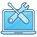 computer, education, knowledge, settings, tools icon