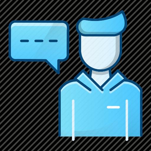 avatar, education, mentee, teacher icon