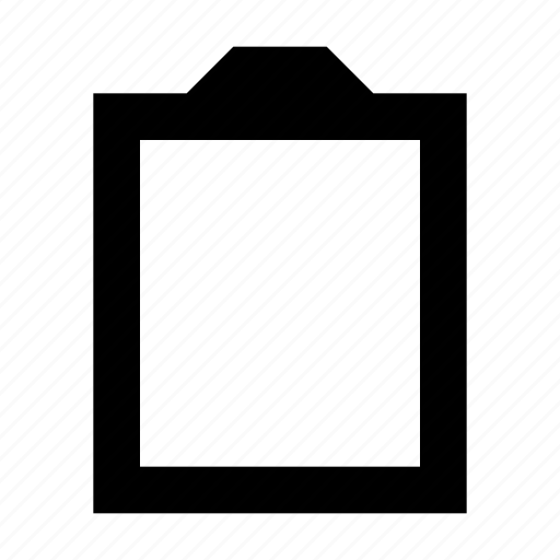 clipboard, list, memo, notation, note icon