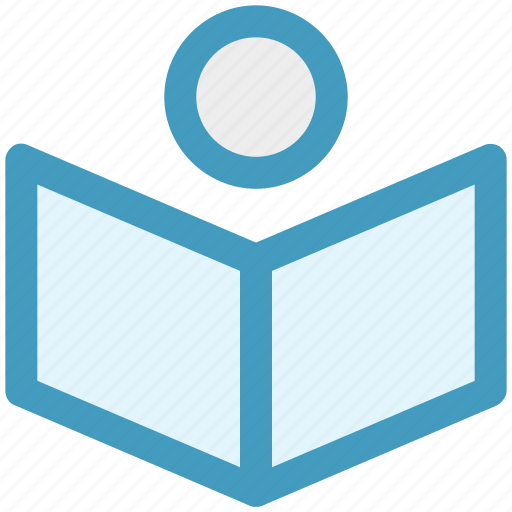 Book, book reading, reading, student, student and book, study icon - Download on Iconfinder