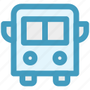 bus, school, school bus, transport, vehicle icon