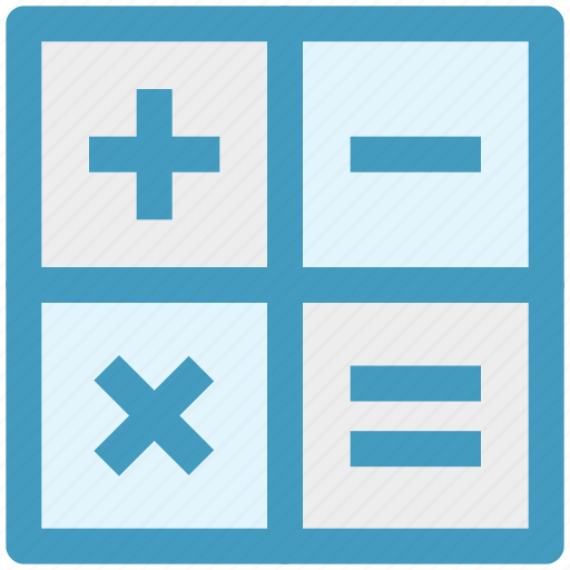 Calc, calculate, calculator, math, mathematics icon - Download on Iconfinder