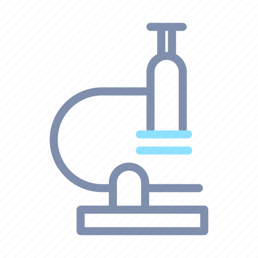 Biology, education, laboratory, microscope, science icon - Download on Iconfinder