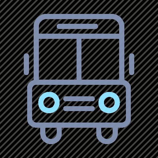 bus, school, transport, transportation, vehicle icon