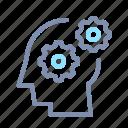 cogwheel, creative, creativity, gear, idea, smart