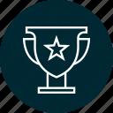 athletics, award, education, learning, school, sports, star icon
