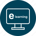 e, education, learn, learning, online, school icon