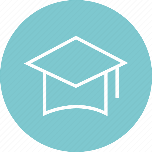 cap, draduation, education, graduate, learning, school icon