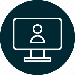 education, learning, monitor, pc, school, screen icon
