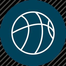 basketball, dribble, education, learning, school, sports icon