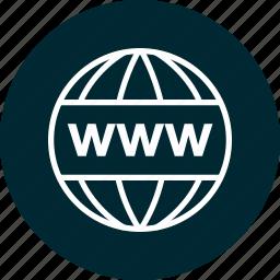 education, learning, school, wide, world, www icon