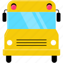automobile, bus, car, school, transportation, truck, vehicle