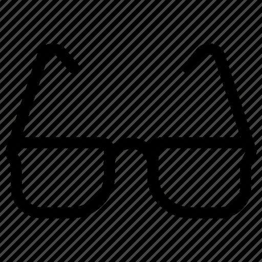 education, glasses, goggles, reading, school, study icon