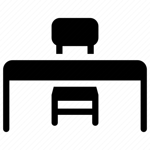 Chair, desk, education, furniture, school icon - Download on Iconfinder