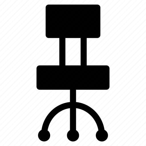 chair, education, furniture, office, school icon