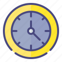 accessory, clock, education, time icon