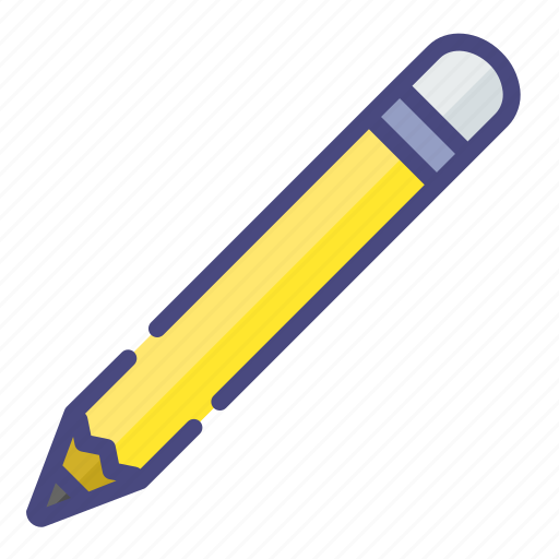 education, pencil, stationary icon