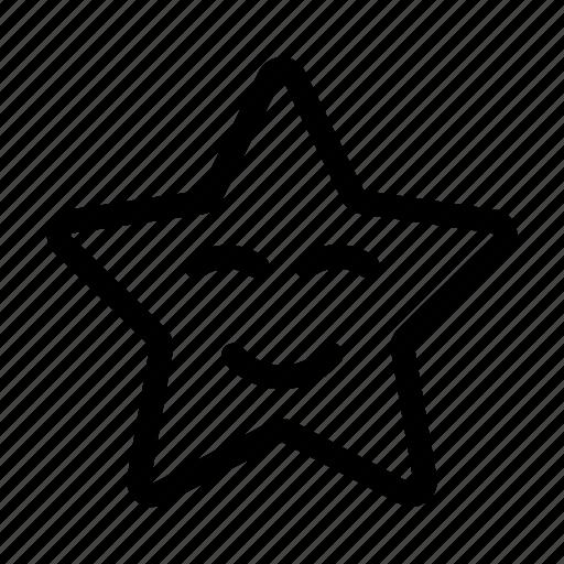 education, emoji, happy, learning, school, smiley, star icon
