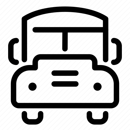 bus, education, learning, school, schoolbus, transportation, vehicle icon