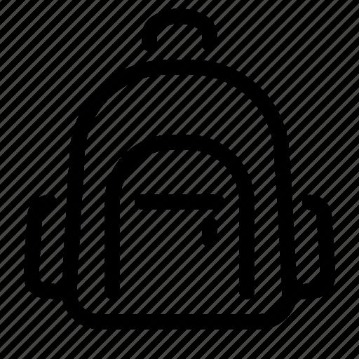 backpack, bag, education, learning, school, schoolbag icon