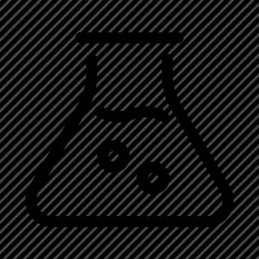beaker, education, flask, learning, school, science, test icon