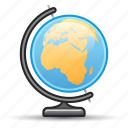 earth, geography, globe, map, navigation icon