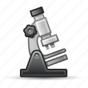 laboratory, microscope, research, science icon