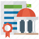 accreditation, achievement, certificate diploma, certification, degree icon