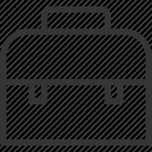 bag, books, carry, lesson, school, suitcase icon