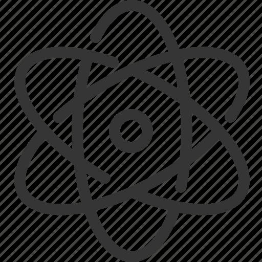 atom, line, mini, molecule icon