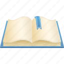 book, education, library, schoolbook, textbook icon