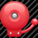alarm, alarm bell, bell, fire alarm, school bell icon