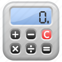 accounting, calculator, education, math icon