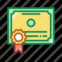 certification, certified, diploma, education, graduate, graduation