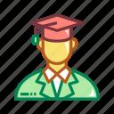 education, graduate, graduation, happiness, student