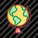 education, geographic, globe