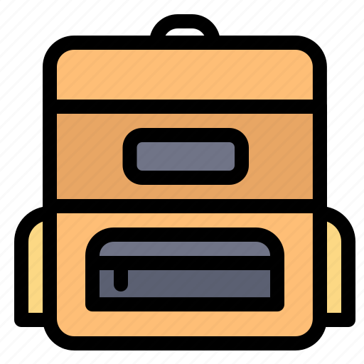 Bag, education, schoolbag icon - Download on Iconfinder