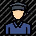 cap, education, graduation icon