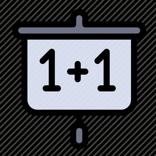 chart, education, presentation, school icon
