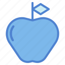apple, food, fruit, healthy, organic, vegan, vegetarian icon