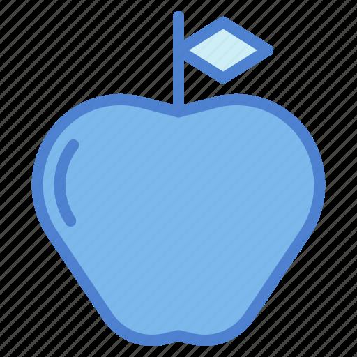 apple, food, fruit, healthy, organic, vegan, vegetarian icon