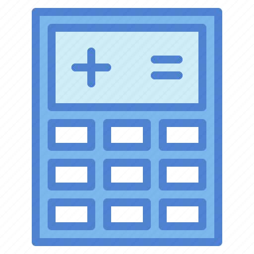 calculating, calculator, maths, technological, technology icon