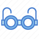 eyeglasses, glasses, optical, reading, vision icon