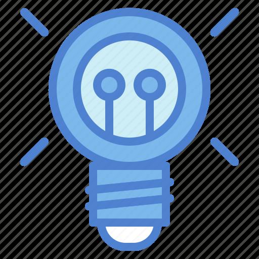 bulb, electricity, idea, invention, light icon