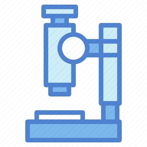 education, medical, microscope, observation, science, scientific icon