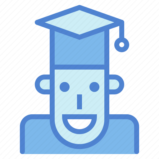 cap, college, graduation, hat, people, student, university icon