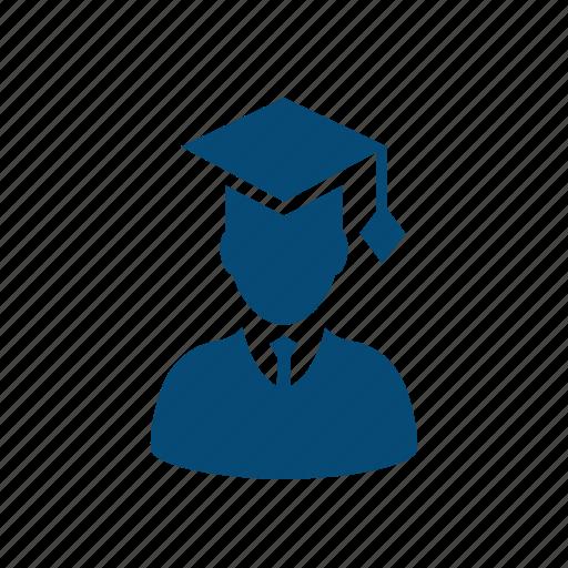 academic, baccalaureate, cap, college, degree, education, expert, faculty, graduates, graduation, high school, internship, master, mba, university icon