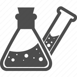 alcohol, chemical, formula, lab, laboratory, magnifying glass, science icon