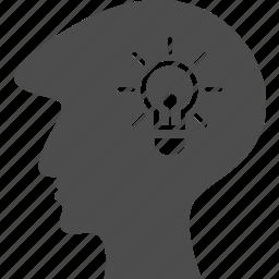 avatar, human, male, man, people, storm, think icon