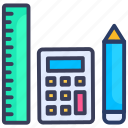 accounting, calc, calculator, math, mathematics, pencil, scale